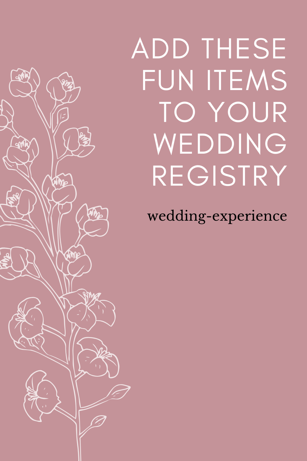 Fun Things To Put on Your Wedding Registry From Amazon