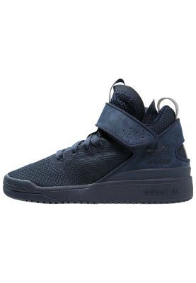 new styles 99b39 a352c adidas Originals VERITAS-X - Sneakers hoog - collegiate navysilver  metallic - Zalando