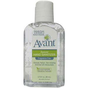 2 75 Oz Bottle Of Fragrance Free Hand Sanitizer A Drop Of Nature