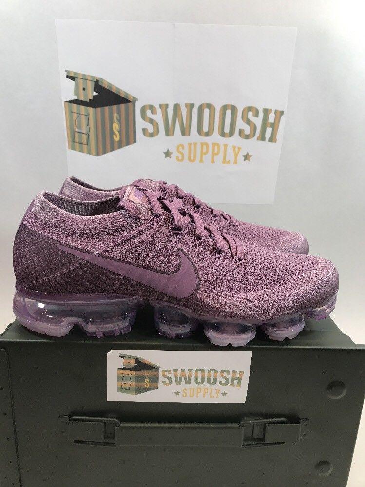 47ac474135b05 Womens Nike Air Vapormax Flyknit 849557-500 Violet Dust Brand New Size 9.5 # Nike #RunningCrossTraining