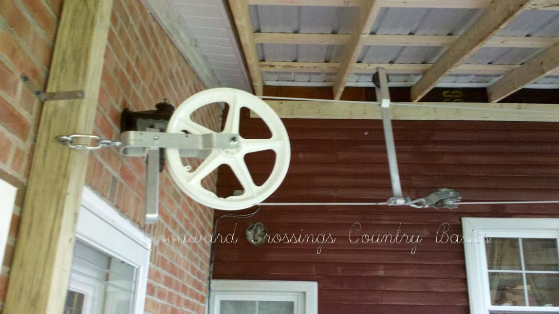 Deluxe Amish Built Clothesline Pulley System With Ease
