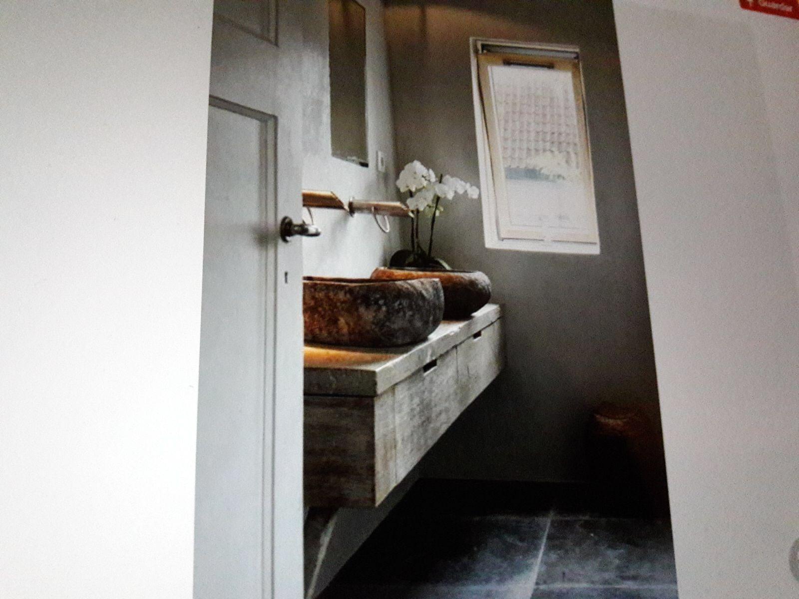 Badkamermeubel met inloopdouchebakken mooi badkamermeubel met