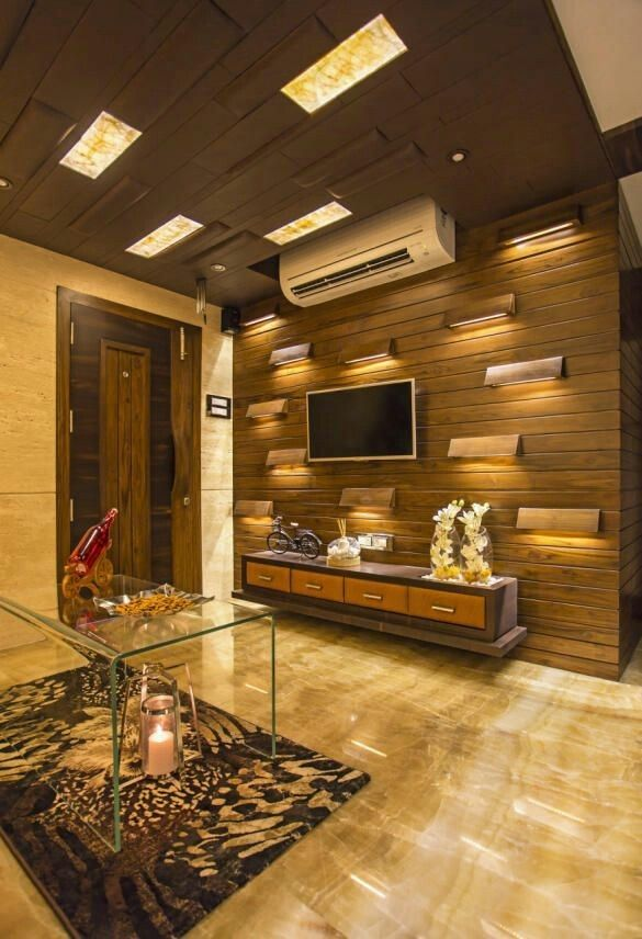 Lcd Panel Tv Unit Design For Living Drawing Room Bedroom: Idea By Đặng Hiếu RV On Sống