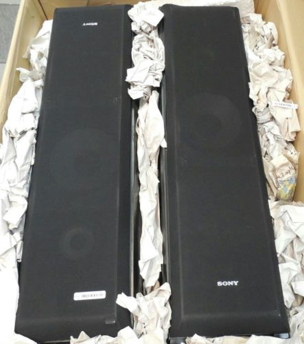 sony tower speakers. sony ss-f5000 tower floor speakers a