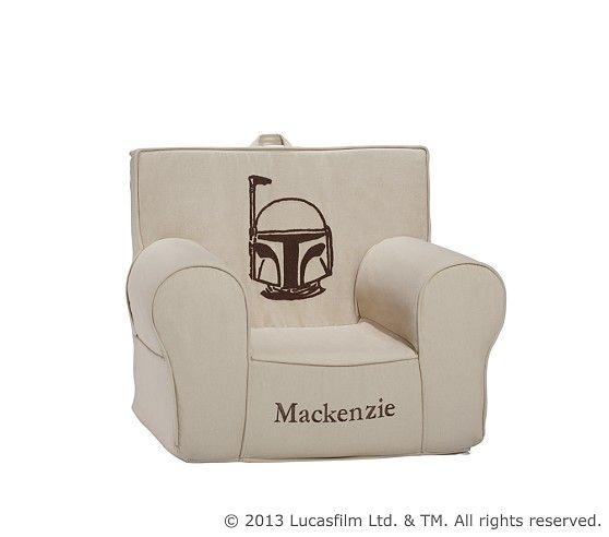 Star Wars Boba Fett Crewel Anywhere Chair Pottery Barn