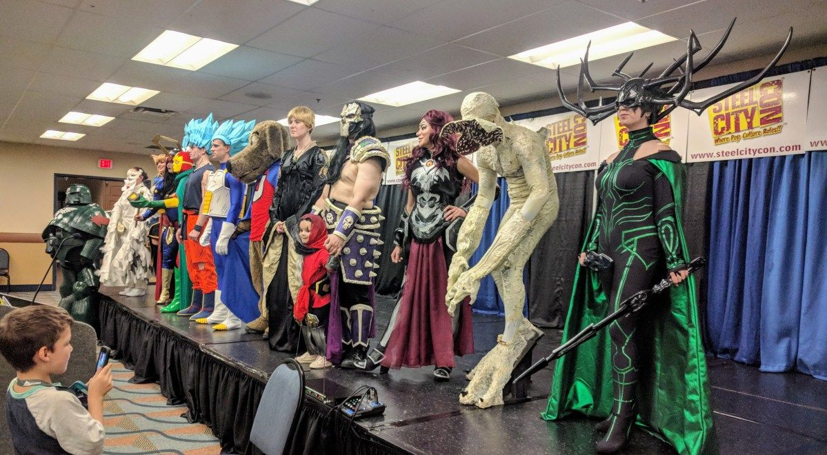Pittsburgh Steel City Con April 2018 Wintendo64 Best Cosplay Cosplay Props Cosplay Costumes