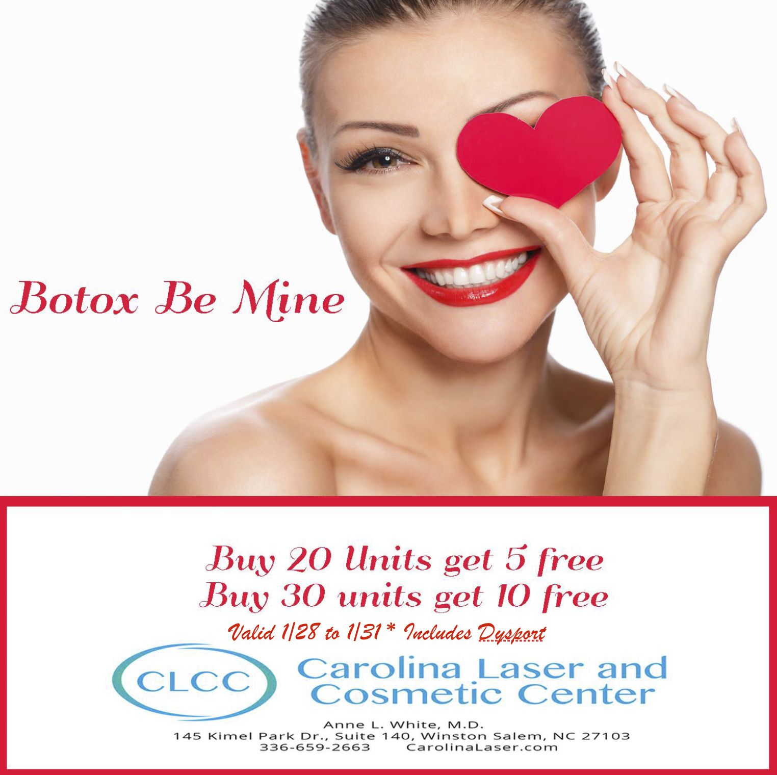 Special Botox Offer This Week Only! (2020) Cosmetics
