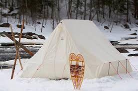 camping in a snowtrekker tent