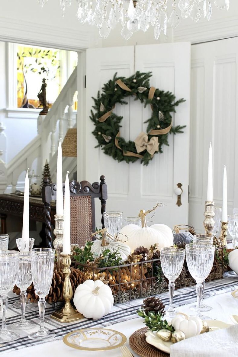 Transitional Table Decor – Styled & Set Tour | Home Decorating Ideas ...