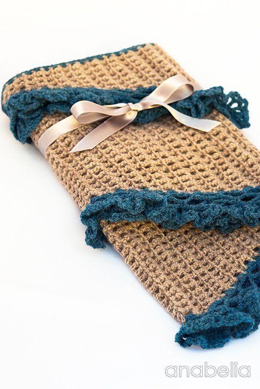 Crochet scarf by Anabelia   -::- Anabelia Crochet -::-   Pinterest ...
