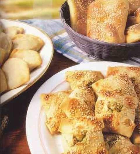 Monday's Greek Recipe - Kaltsounia Kritis - Anastasia