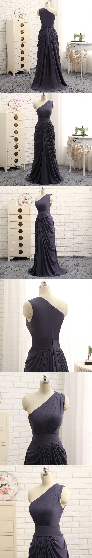 Little black dress for wedding party  HVVLF  Cheap Bridesmaid Dresses Under  Aline Oneshoulder