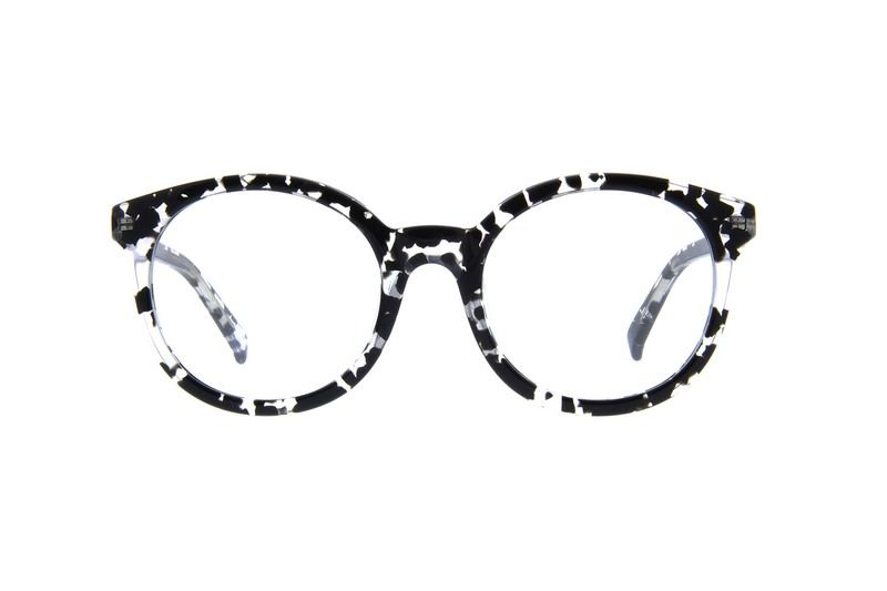 812a4cc0b66 Zenni Round Prescription Eyeglasses Pattern Tortoiseshell Plastic 4412431 in  2019