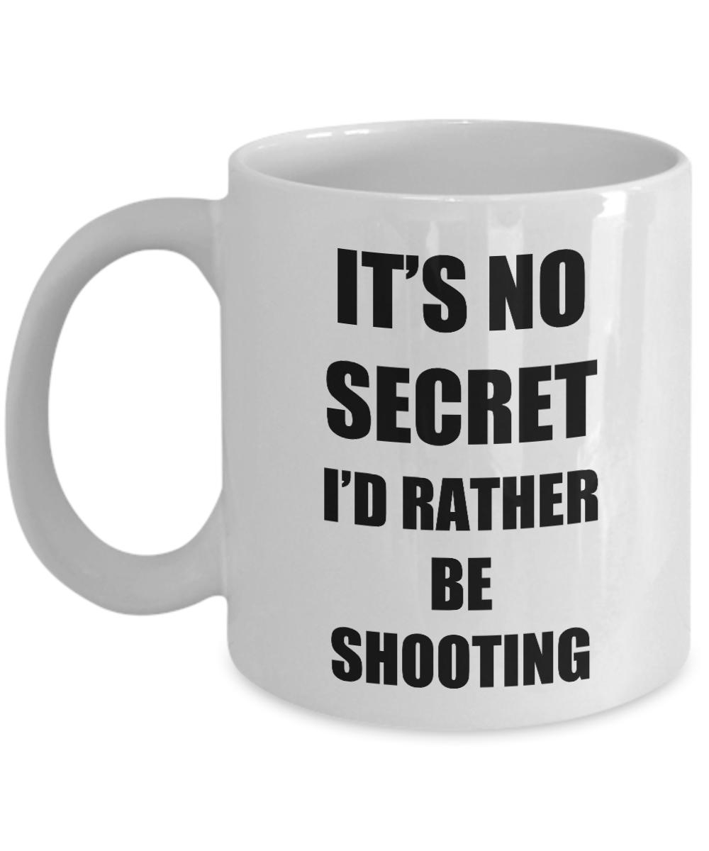 Shooting Mug Sport Fan Lover Funny Gift Idea Novelty Gag Coffee Tea