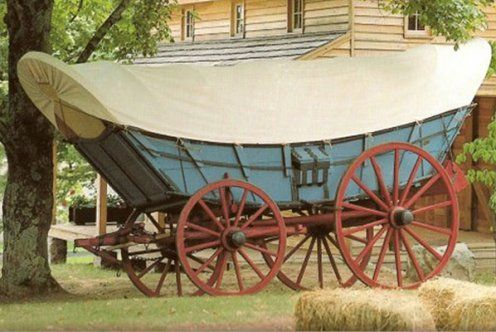 Conestoga Wagon Can See Why It Would Be Called A Prairie