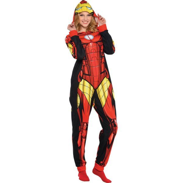 hot-seeling original unequal in performance united kingdom Adult Iron Man One Piece Pajama- I need this   My Style ...