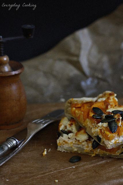 Everyday cooking: Dyniowa crostata