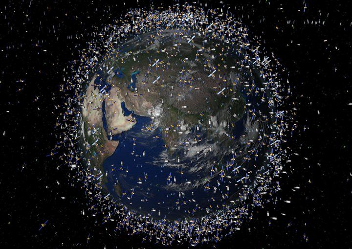 The 15 Most Toxic Places To Live Space Debris Space Junk Earth From Space