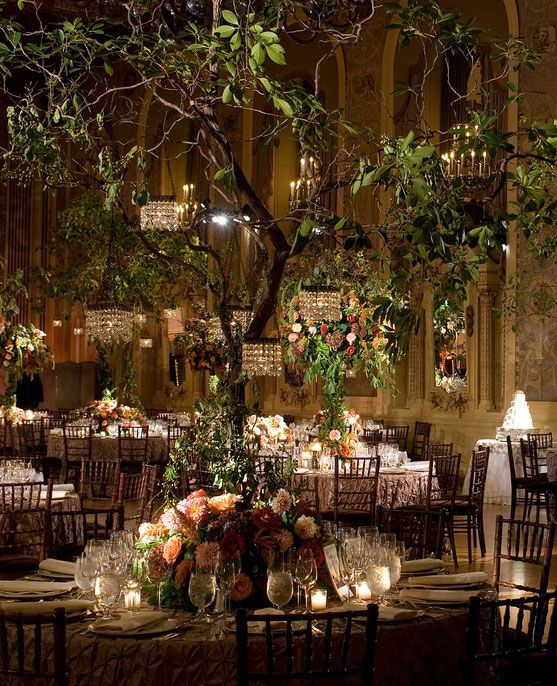 Chandeliers on trees party pinterest chandeliers wedding and indoor garden wedding trees with mini chandeliers gorgeous diy wedding planner with di wedding ideas and tips including diy wedding tutorials and how to junglespirit Images