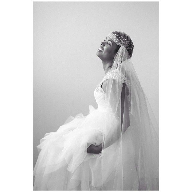 Love the cap veil.  photo: Jacque Lynn Photography