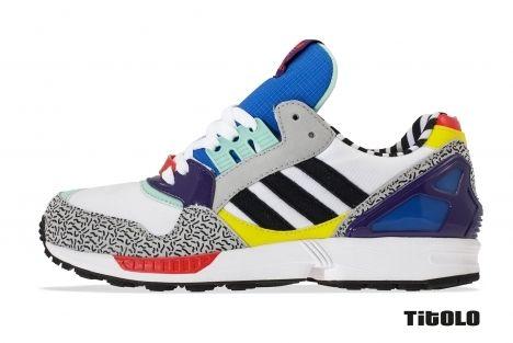 Adidas X Memphis Group ZX 9000 Torsion Post Modern | Shoes