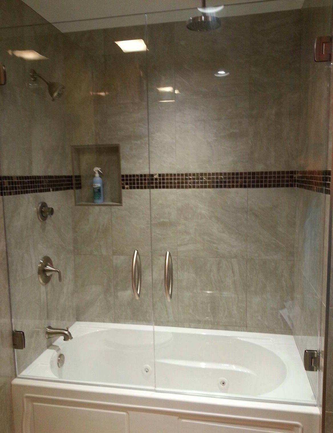 Frameless Shower Doors For Bathtubs Bathtub Shower Doors Shower