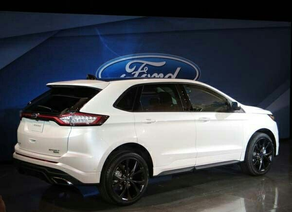 2015 Ford Edge Sport Ford Edge Ford Suv Dream Cars