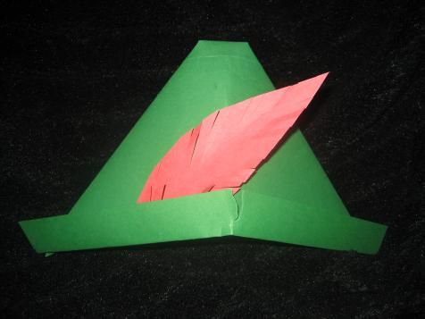 how to make robin hood hat out of paper