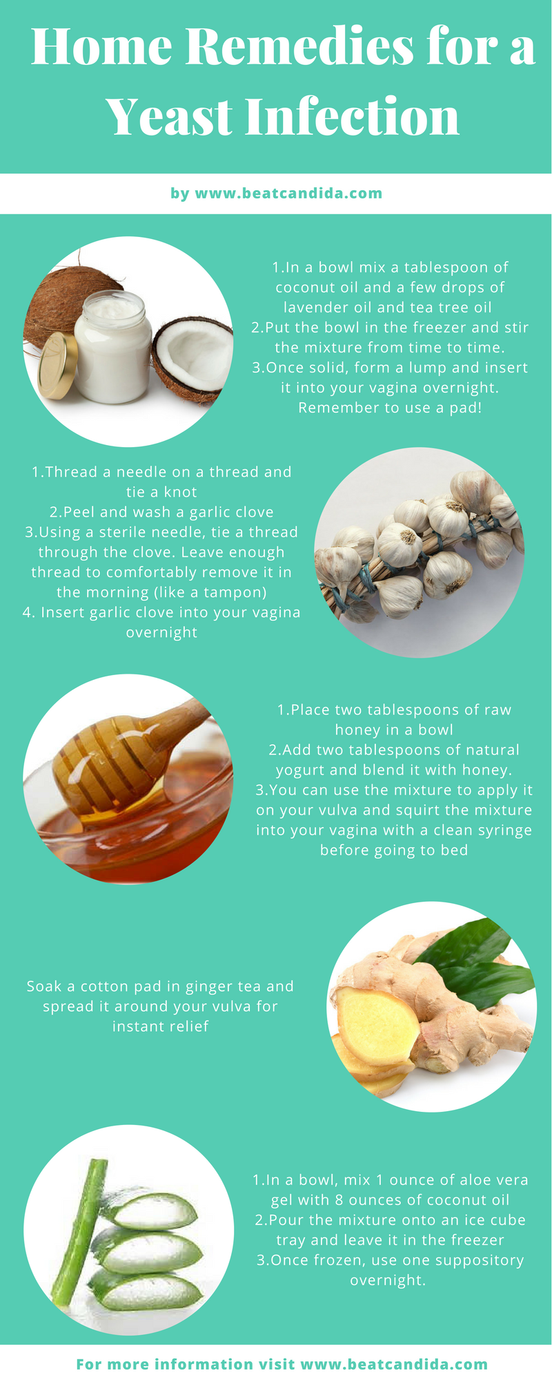 How To Prepare Home Remedies For Vaginal Yeast Infection?