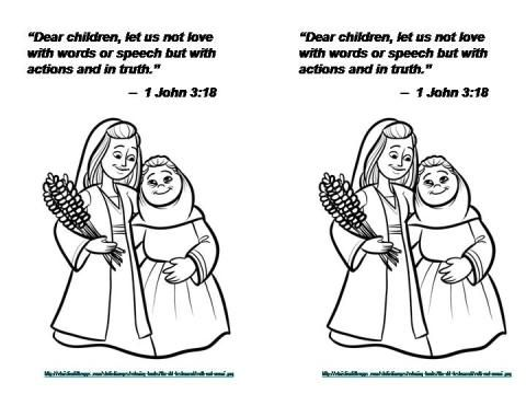 Ruth And Naomi Coloring Pages Google Search Ruth And Naomi
