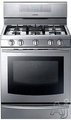 Samsung Nx58f5700ws 30 Freestanding Gas Range With 5 Sealed Burners 8 Cu Ft