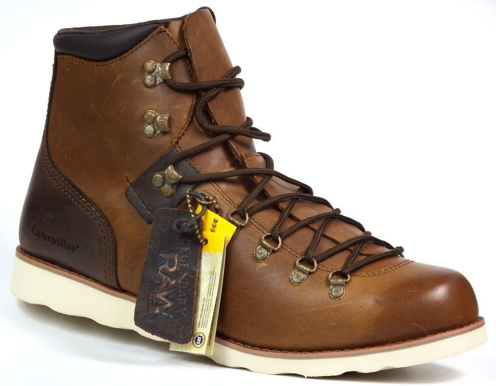 best service a0ebb 3560f NEU Caterpillar Cat Sherman Shoes Leder braun Gr.46 Herren ...