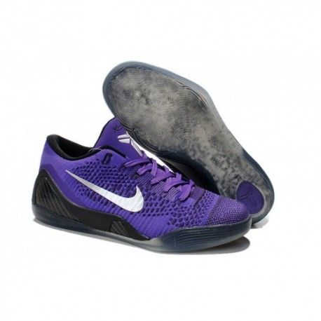 The cheap Authentic Kobe 9 Elite Low 'Hyper Grape' White-Cave Purple Shoes  factory store are awesome pair of shoes but it seems the super high top  design ...