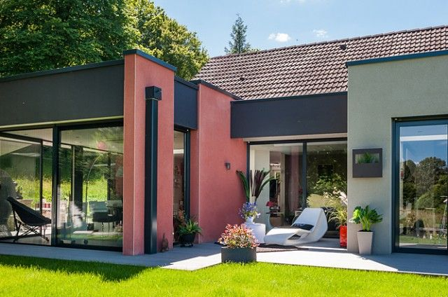 Pin by Jana Marconi on houses - domy Pinterest Villas and House - extension maison prix m2