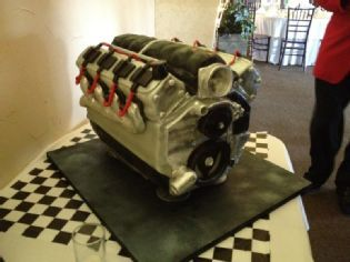 LS Engine Cake Cars And Trucks Pinterest Cake Birthdays - Car engine birthday cake