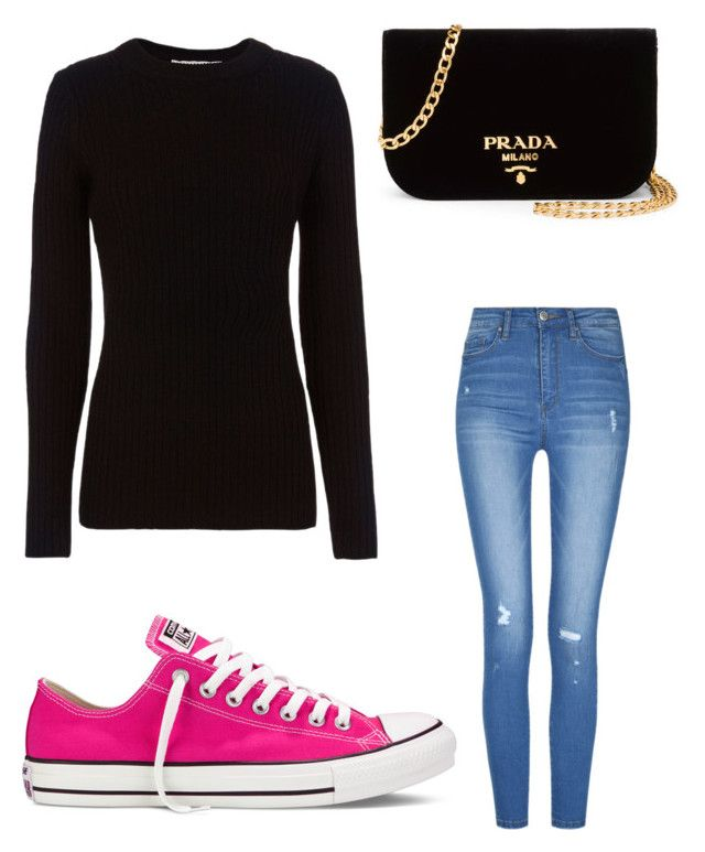 """Untitled #8998"" by ohnadine on Polyvore featuring Prada, rag & bone and Converse"