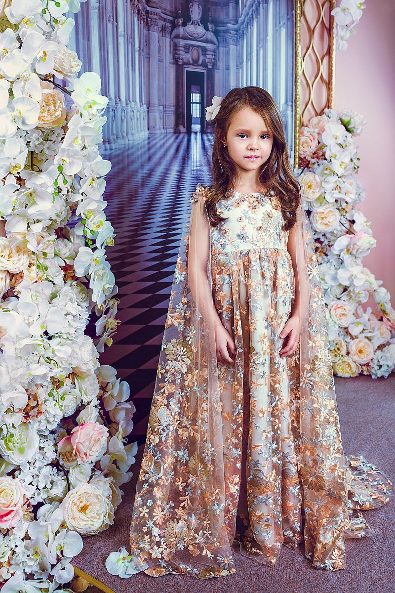 Kids Couture : couture, Bibiona, Girls, Couture, Dresses,, Couture,