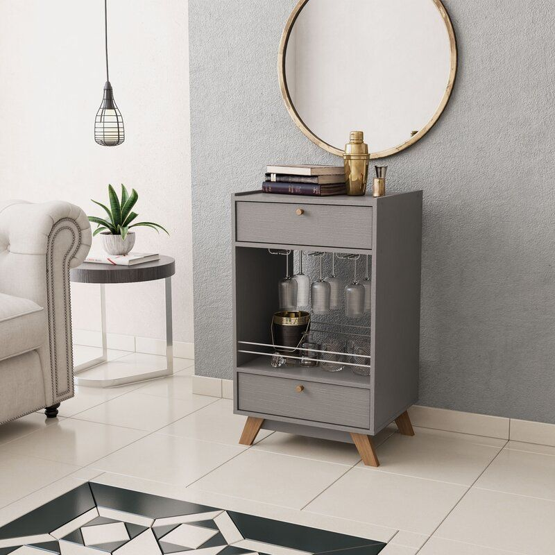 Manor Mini Bar In 2020 Mini Bar Wine Rack Design Bar Furniture