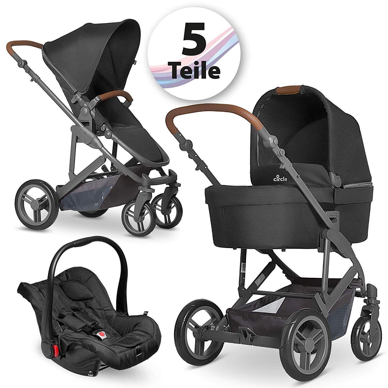 Circle Kombi Kinderwagen Set 3in1 Catania 4 Inkl Babyschale
