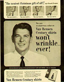 Ronald Reagan Print Ads Of The 1950s Tvparty Old Advertisements Vintage Advertisements Print Ads