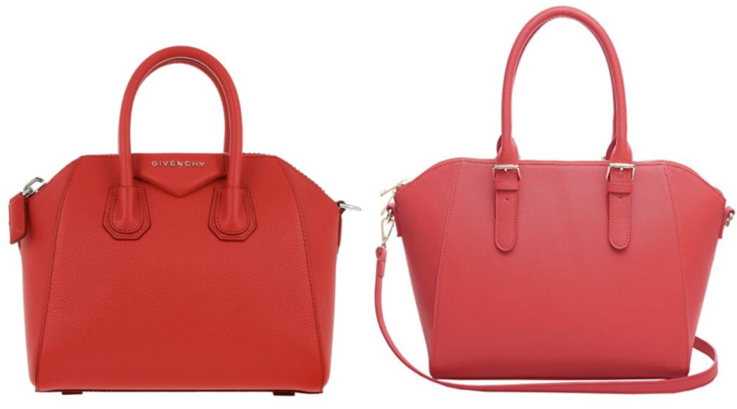 Red Givenchy Antigona Dupe Santigonapurses Luxury Handbags Purses And