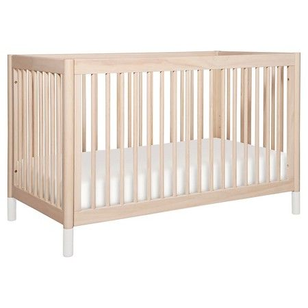 Babyletto Gelato 4-in-1 Convertible Crib - Washed Natural | Bebe