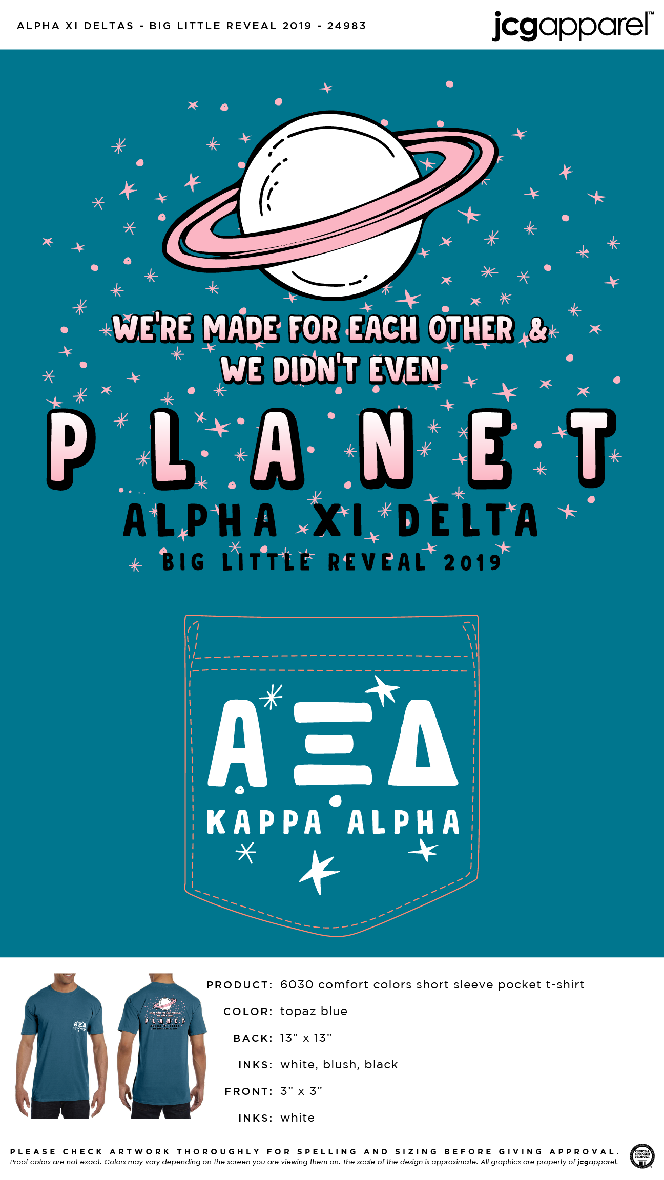 Alpha Xi Delta Big Little Reveal Shirt | Sorority Big Little Reveal | Greek Big …