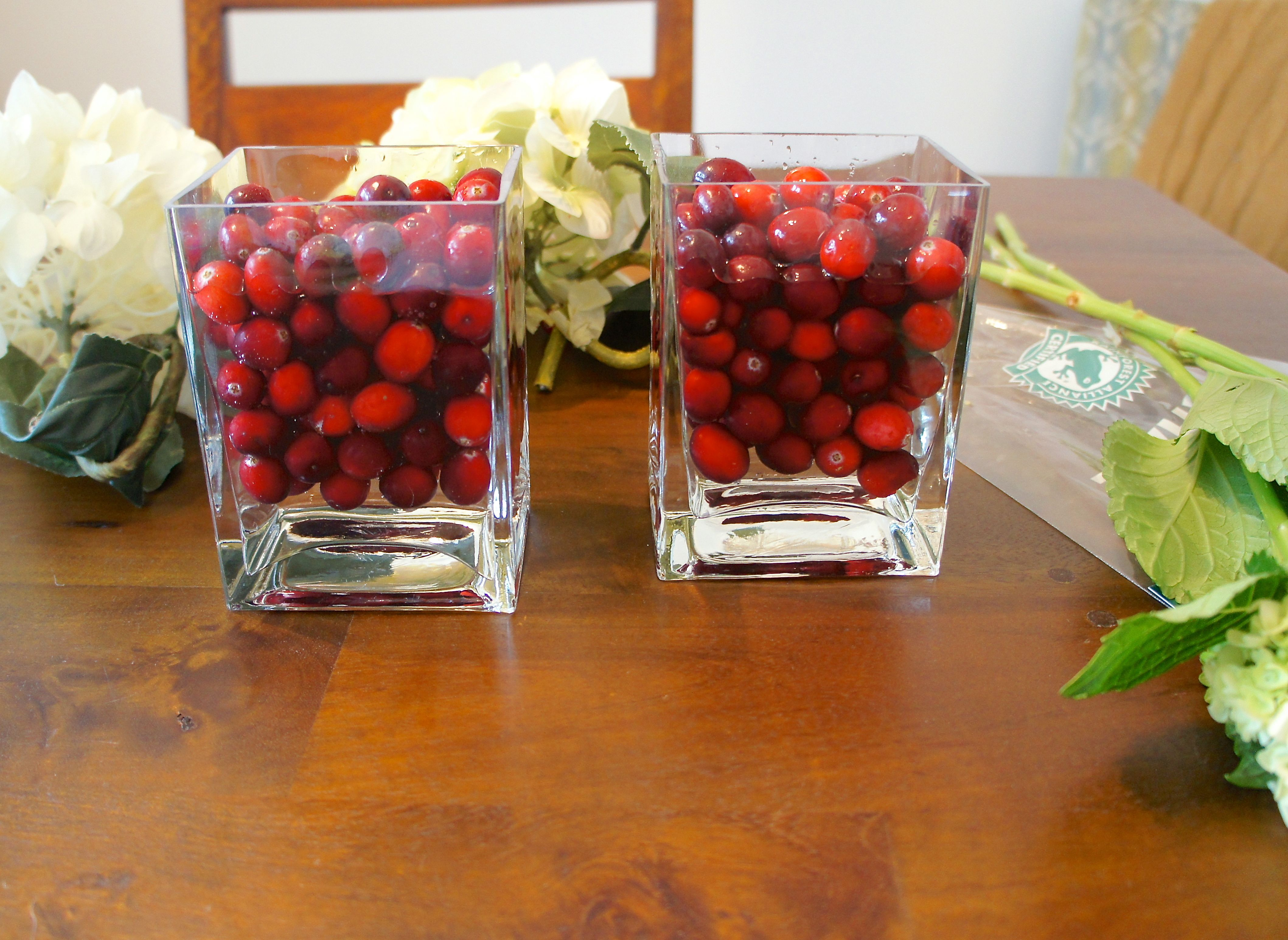 $5 Holiday Centerpieces