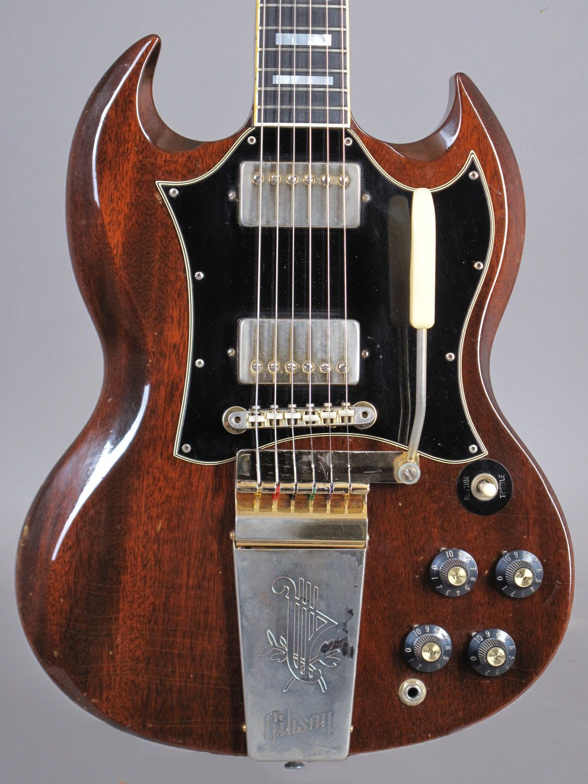 1969 Gibson SG Custom with removed middle pickup and 60's