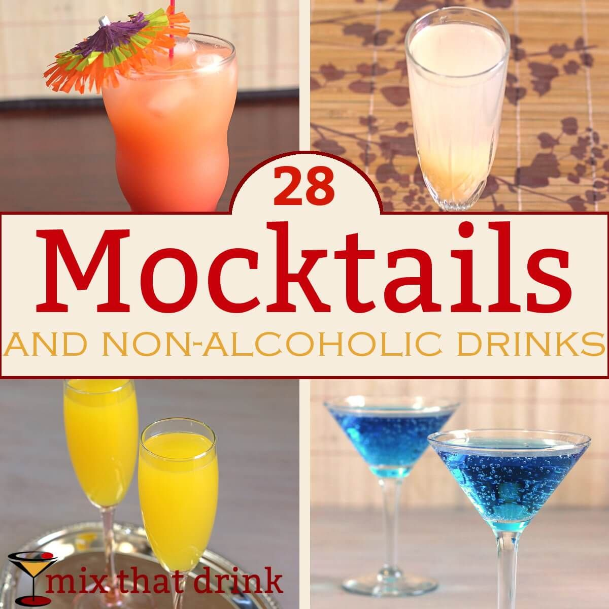 27 Mocktails And Non-alcoholic Cocktails