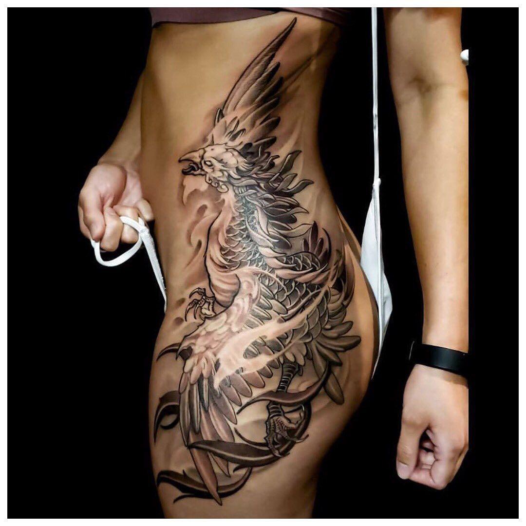 Phoenix piece by @artofsteve #CreateArt  #torontotattoo #torontotattoos #customtattoo #tattoo #tattoos #art #instaart #tattooideas #tattoosocial #design #inkstinctsubmission #tattoodo #inspiredinktattoo #tattoomobile #toronto #tattooed #instagood #tattooartist #tattooart #phoenix #phoenixtattoo #irezumi