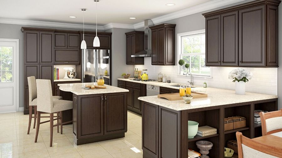 17 Best images about Kitchen ideas on Pinterest | Shaker cabinets, Espresso  kitchen and Kitchen cabinet colors