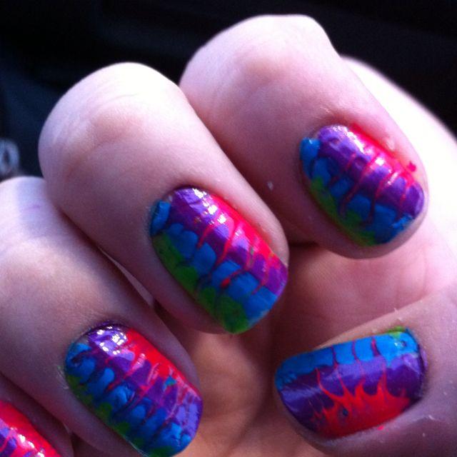 Tye dye!! (With images) | Tye dye, Nails, Tye