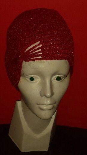 gorra con moño